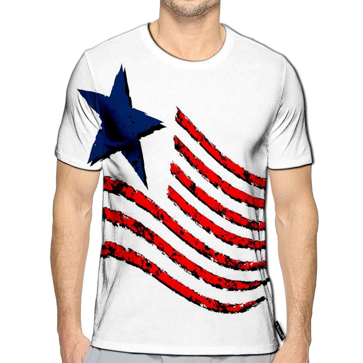 Randell 3D Printed T-Shirts Donuts Short Sleeve Tops Tees