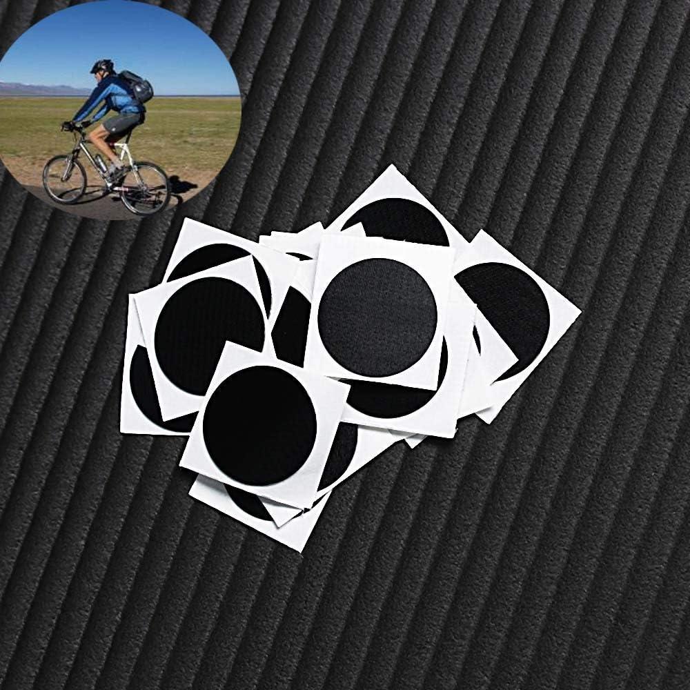 10 Parches Adhesivos para neum/áticos de Bicicleta sin Pegamento Ruan
