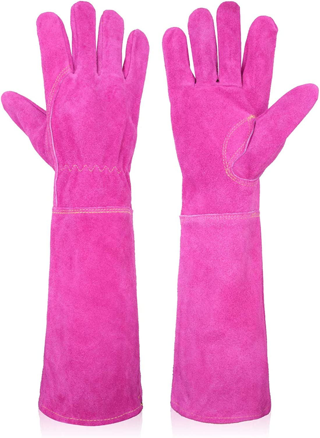 Rose Pruning Thorn Proof Gardening Gloves Women, Long Sleeve Garden Gloves Puncture Proof Gloves With Forearm Protection