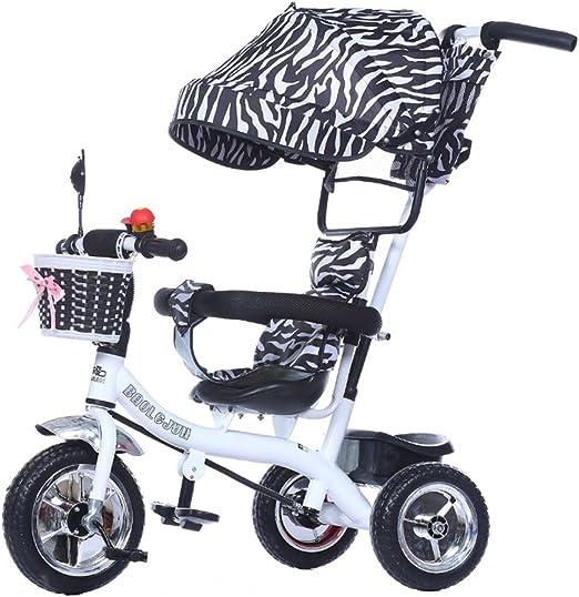 Childrens trolley Multi-función de 3 ruedas para niños, bicicleta ...