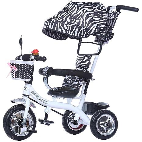 Childrens trolley Multi-función de 3 ruedas para niños ...