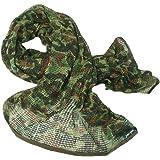 FLAMEER Tactique Militaire Multifonctionnel Coton Cam Scrim Foulard Visage Masque  Voile 96c7239b52e