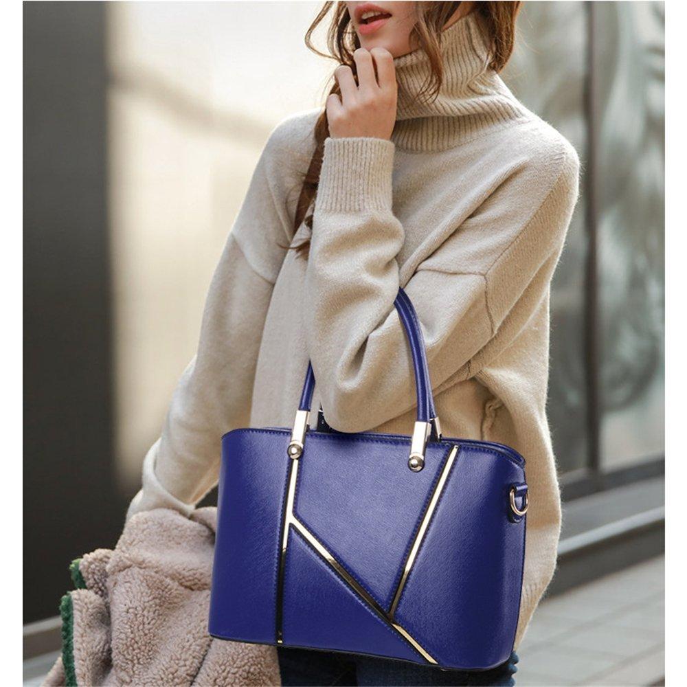 Penao bolso de tres conjuntos, señora moda palabra K costuras solo Prüne, tamaño 30cmx12cmx22cm: Amazon.es: Jardín