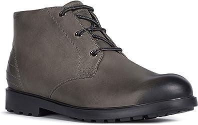 colorante De alguna manera Emoción  Geox Rhadalf U045HE - Botas de invierno para hombre, color Gris, talla 44  EU: Amazon.es: Zapatos y complementos