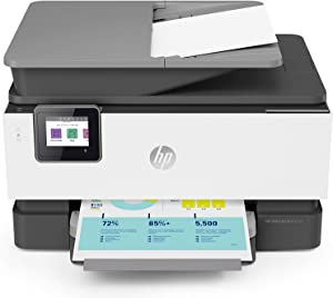 HP OfficeJet Pro 9010 All-in-One Wireless Printer, with Smart Tasks for Smart Office Productivity, Works with Alexa (3UK83A)