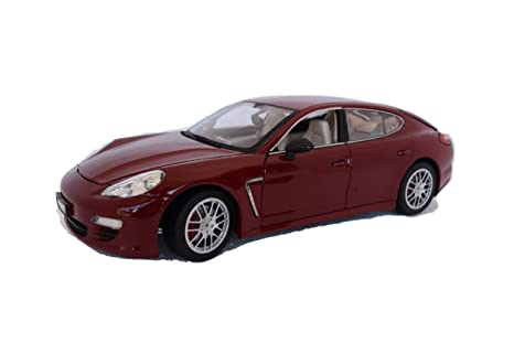 PORSCHE Panamera Die Cast Licensed Model 1:18 RED