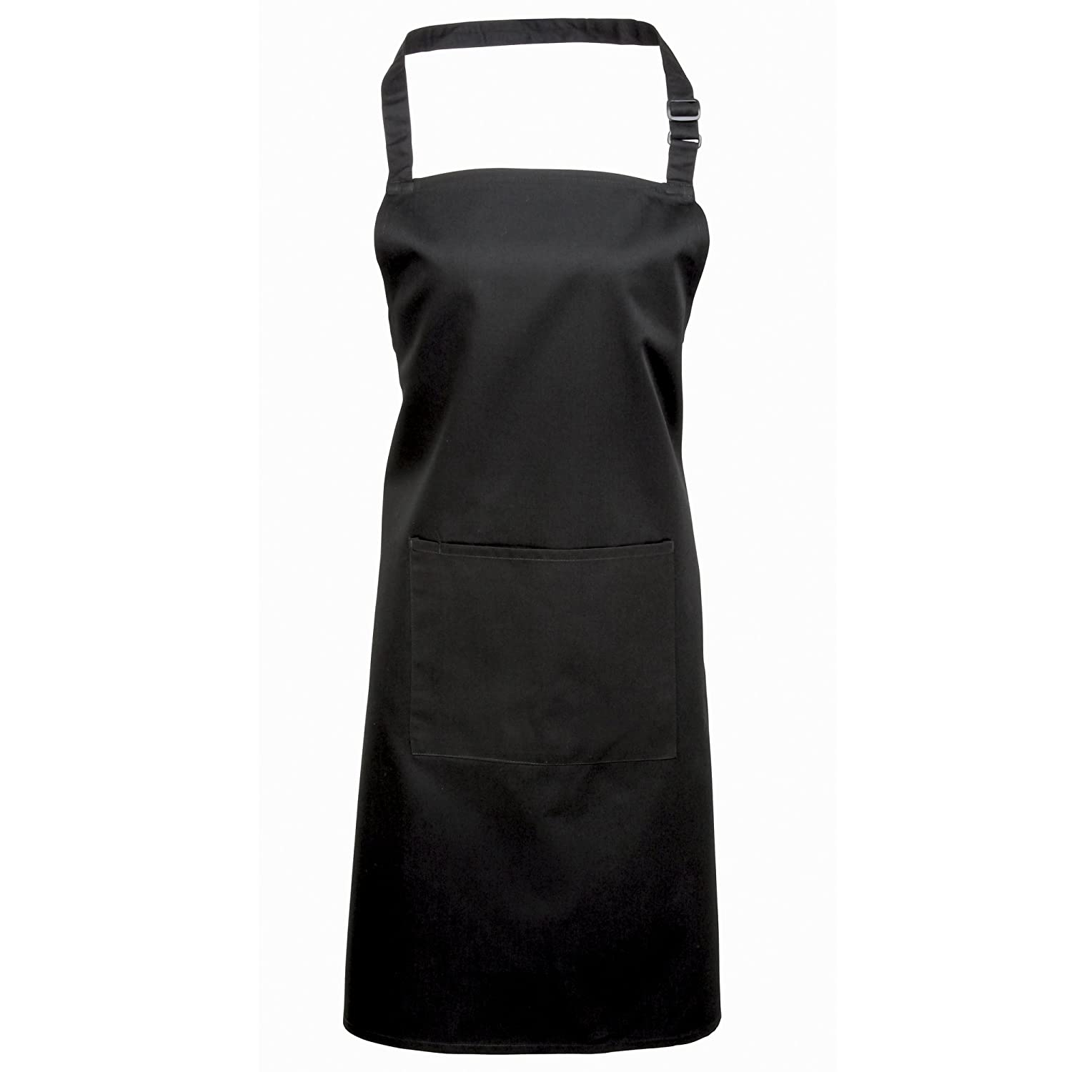 Burgundy One Size Workwear Premier Ladies//Womens Colours Bip Apron With Pocket