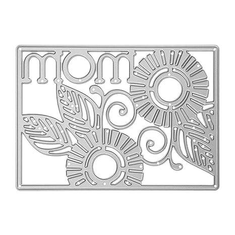 AFFEco - Plantillas de troquelado para manualidades, álbum de recortes, tarjeta de regalo,