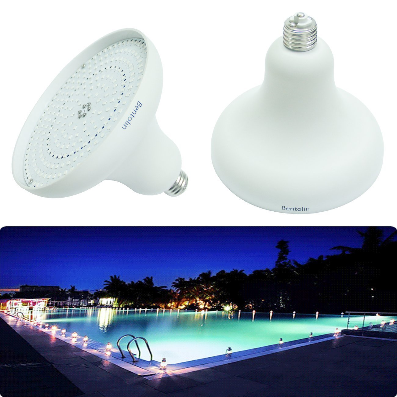 Led pool lights for inground pool - Inground swimming pool light fixture ...