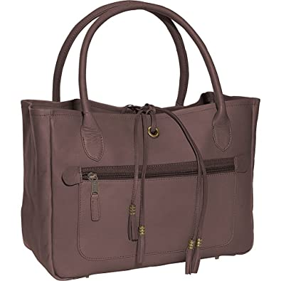 Amazon.com  Clava Women s Leather Tassel Handbag b9f973c30