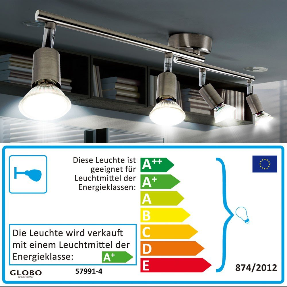12W LED A+ Leuchte Flur Decken Balken Bad Wand Strahler Küchen 60cm Lampe  MATRIX: Amazon.de: Beleuchtung