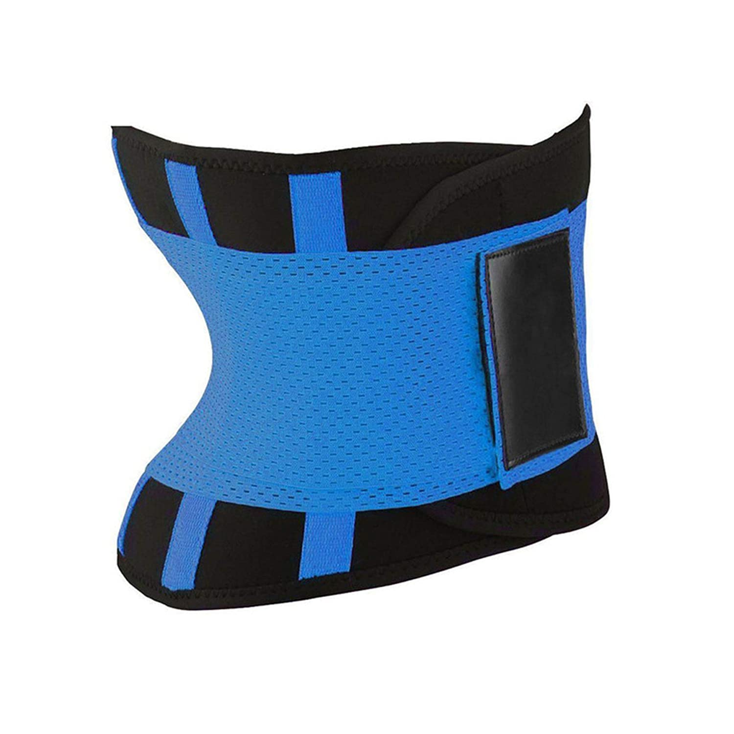 Fortune-God Women Shaper Waist Trainer-Slimming Belt Exercise Fitness Shapewear Control Burn Fat Cincher,Blue,M