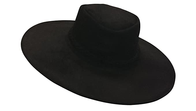 Image Unavailable. Image not available for. Color  Sharpshooter High Plains  Drifter Clint Eastwood Bounty Hunter Black Leather Hat 1ecbee02e233