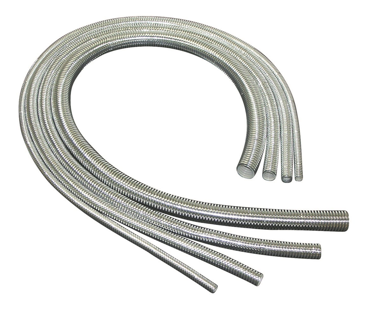 Taylor Cable 39002 ShoTuff Chrome Convoluted Tubing