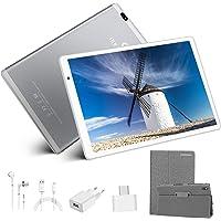 Tablet 10.1 Pulgadas Android 10.0,Tableta 4GB RAM+64GB ROM 128GB Escalables, Cámara 8MP+5MP,8000mAh Tablet 10.1 Pulgadas…