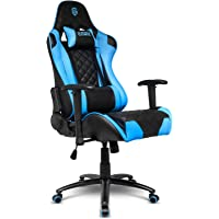EMPIRE GAMING – Fauteuil Gamer Racing 700 Series - Forme siège baquet Sport Ultra-Confortable - Accoudoirs 2D réglables - Coussins lombaires et Nuque offerts.