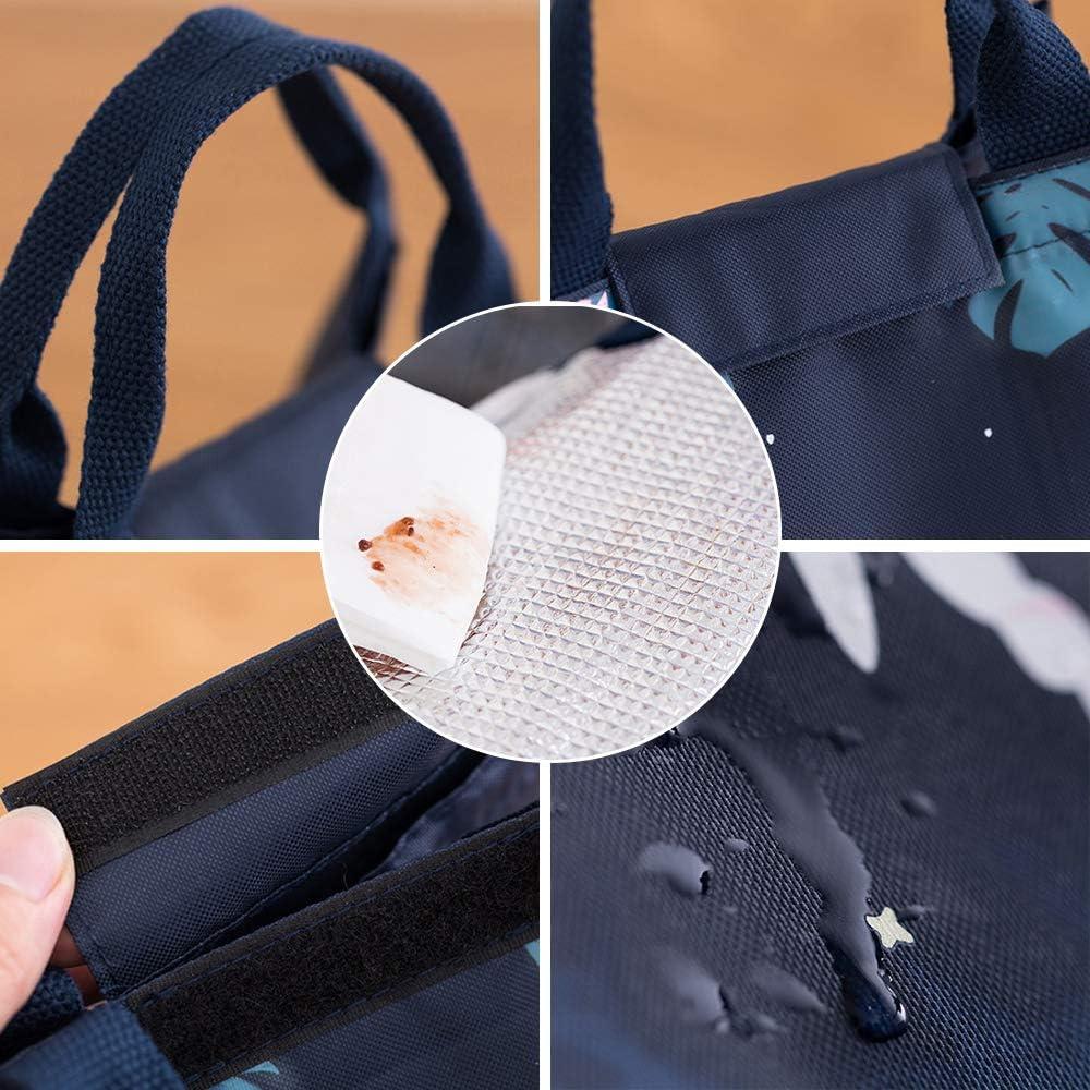isotherme le bureau imperm/éable sac isotherme pour lext/érieur l/école Sac /à d/éjeuner pour enfants et femmes grand sac fourre-tout r/ésistant pour adultes le travail les voyages
