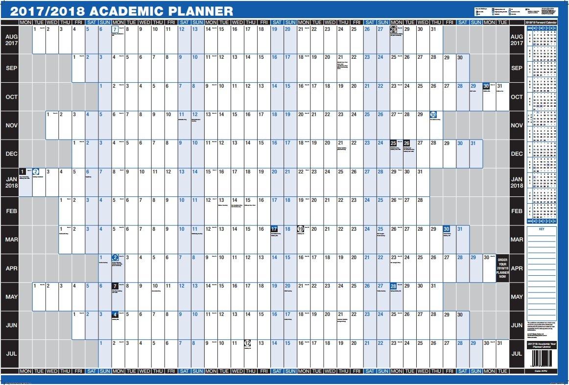 academic planners 2018 17