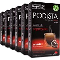 Nespresso Compatible Supremo Coffee Pod Intensity 10/10 Australian Roasted & Packed - 60 Pods (6x10 Pods Pack)