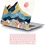 iCasso MacBook Air 13 Inch Case Durable Rubber Coated Plastic Cover for MacBook Air 13 Inch Model A1369/A1466 with Keyboard C