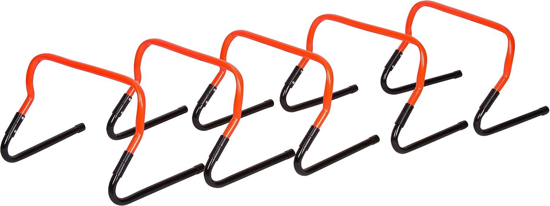 珍しい 5の設定調節可能な速度トレーニングハードルby Trademark Trademark Innovations B01HIMW546 B01HIMW546 Innovations オレンジ, コリのことなら ほぐしや本舗:6b558ef3 --- svecha37.ru