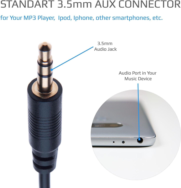 Keple Zusatzkabel Adapter Stereos Alpine Aux Jack 3 5 Elektronik