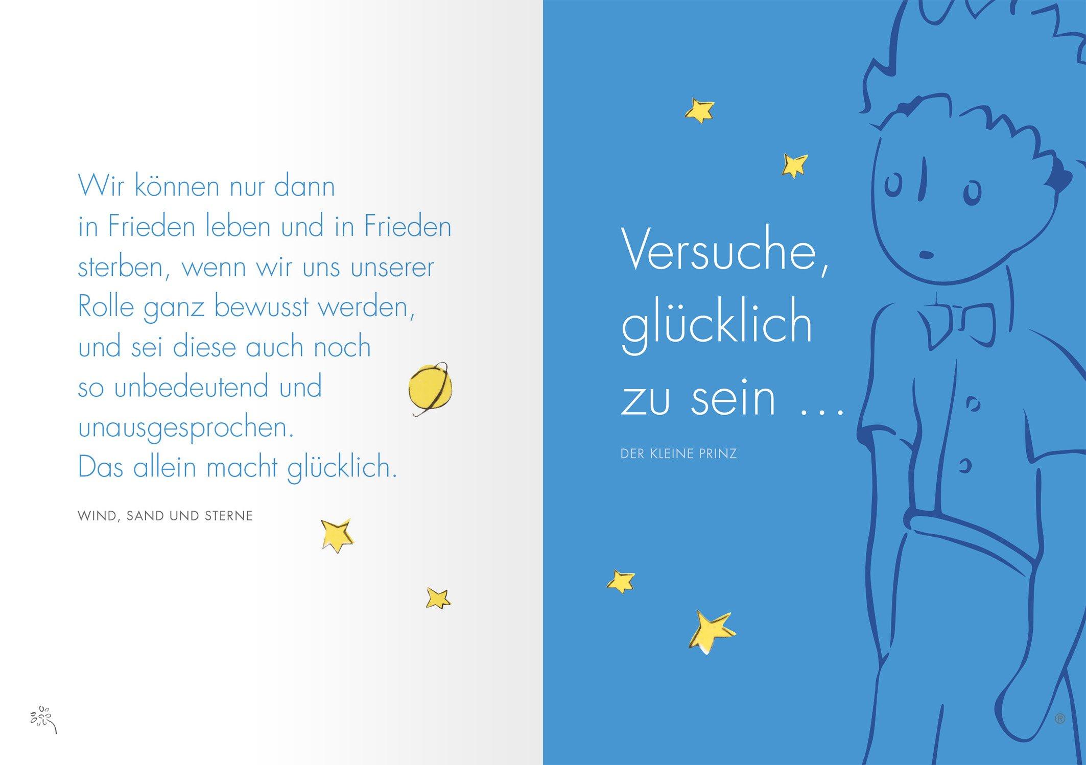 Awesome Der Kleine Prinz Zitate Liebe Besteht Nicht Darin ...