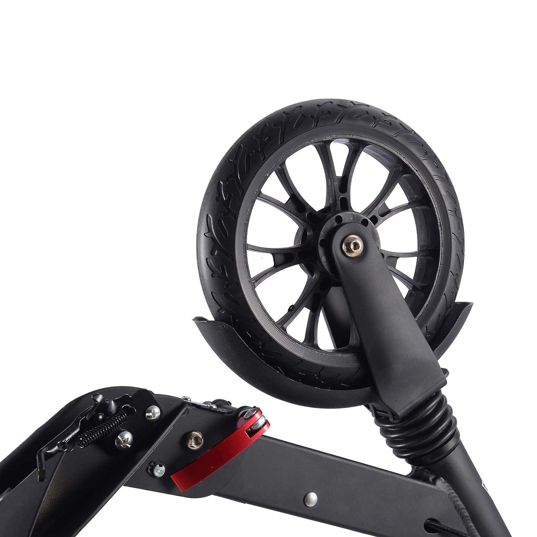 Amazon.com: Playshion Big Wheels patinete con suspensión ...