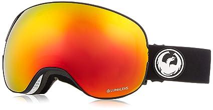 100145e14a Dragon Alliance X2 Black Snow Goggles for Men Women