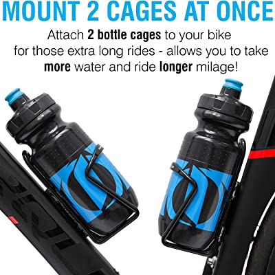 MTB Road Bicycle Bottle Holder Bike Cycling Water Bottle Cage Aluminum Alloy`