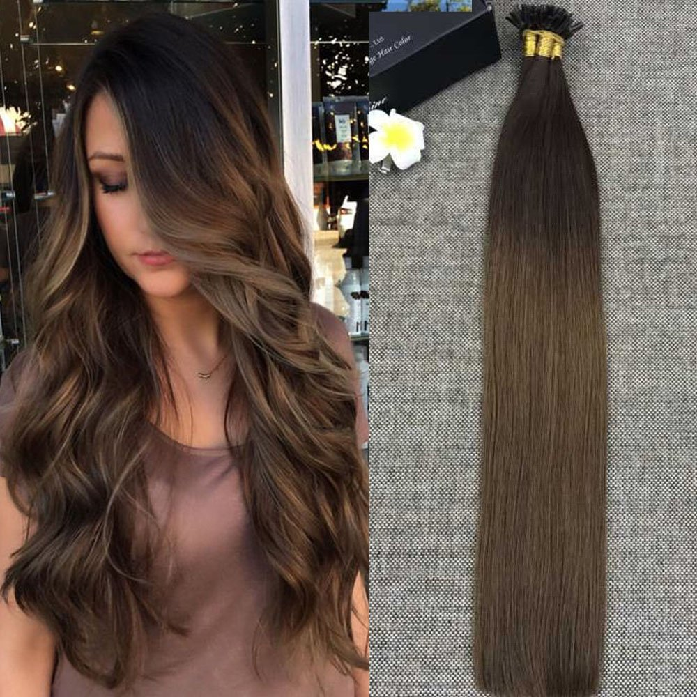 Amazon Sunny 22inch 1gs Remy Keratin Tip Hair Extensions