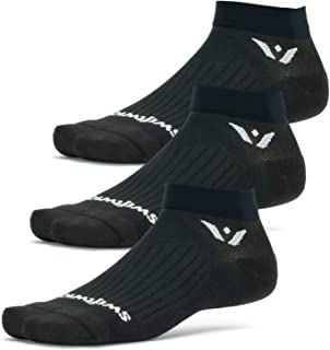 product image for Swiftwick- ASPIRE ONE (3 Pairs) Running & Cycling Socks, Breathable, Compression Fit