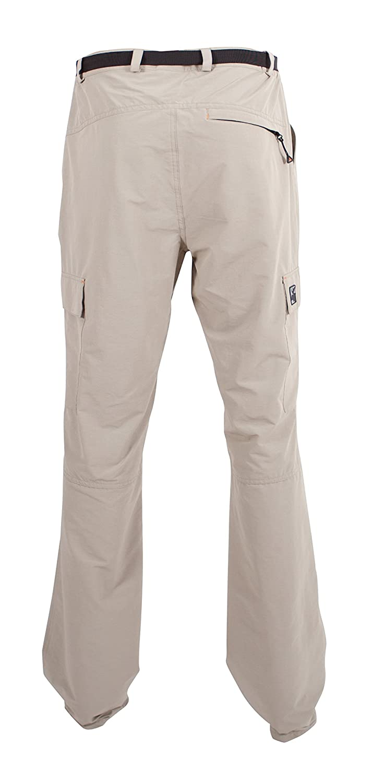 DEPROC active Kentville Pantalones Largos para Hombre Hombre para de Trekking, elásticos, Todo el año, Hombre, Color Beige - Arena, tamaño 46 541c56