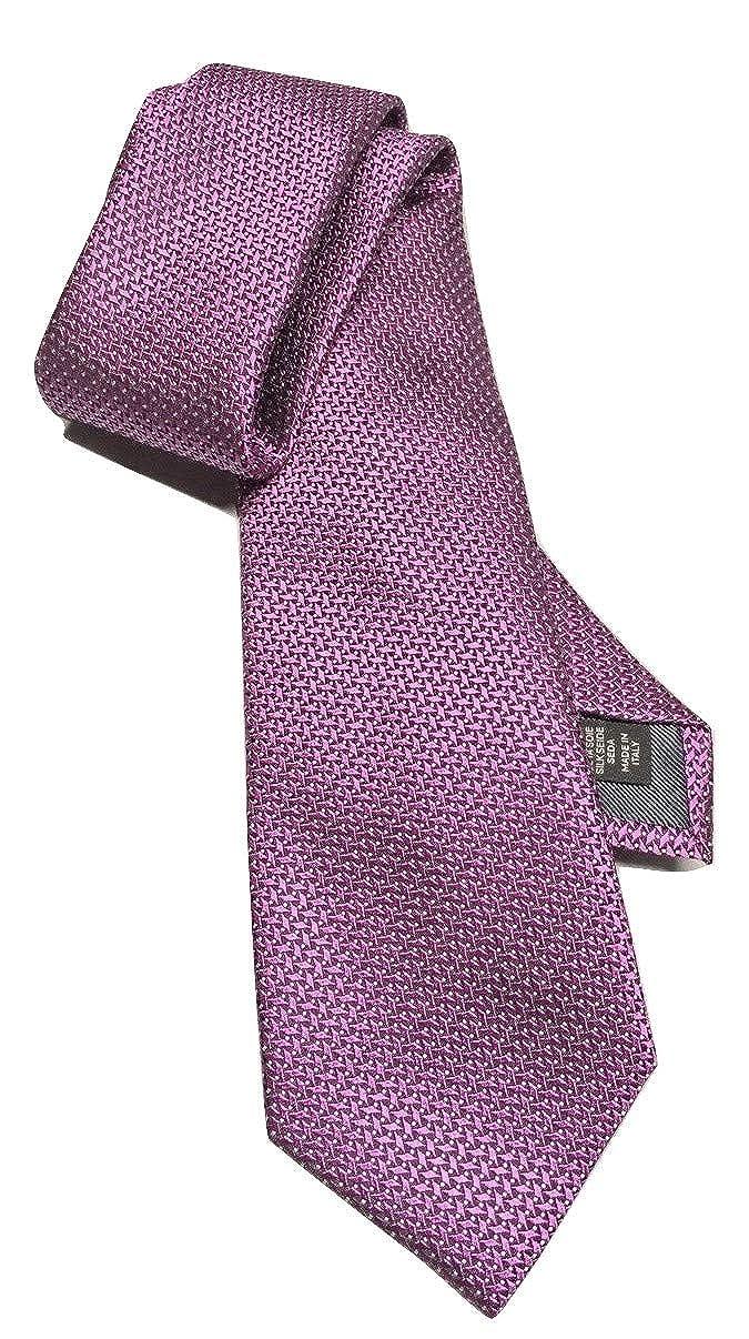 7a3d3cf0 New Men's Ermenegildo Zegna Geometric Grid Pattern Italian Silk Tie ...