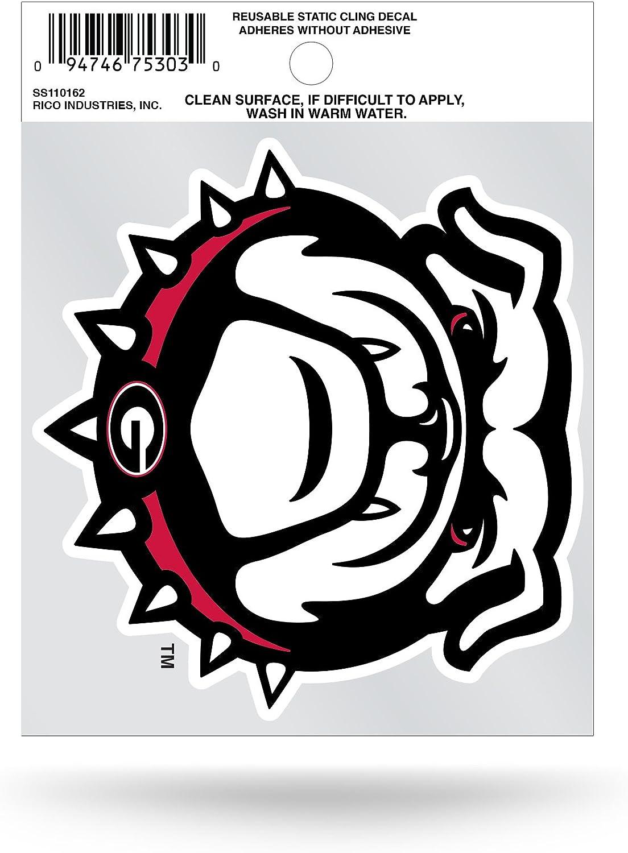 NCAA Georgia Bulldogs - Bulldog Small Static Cling Decal