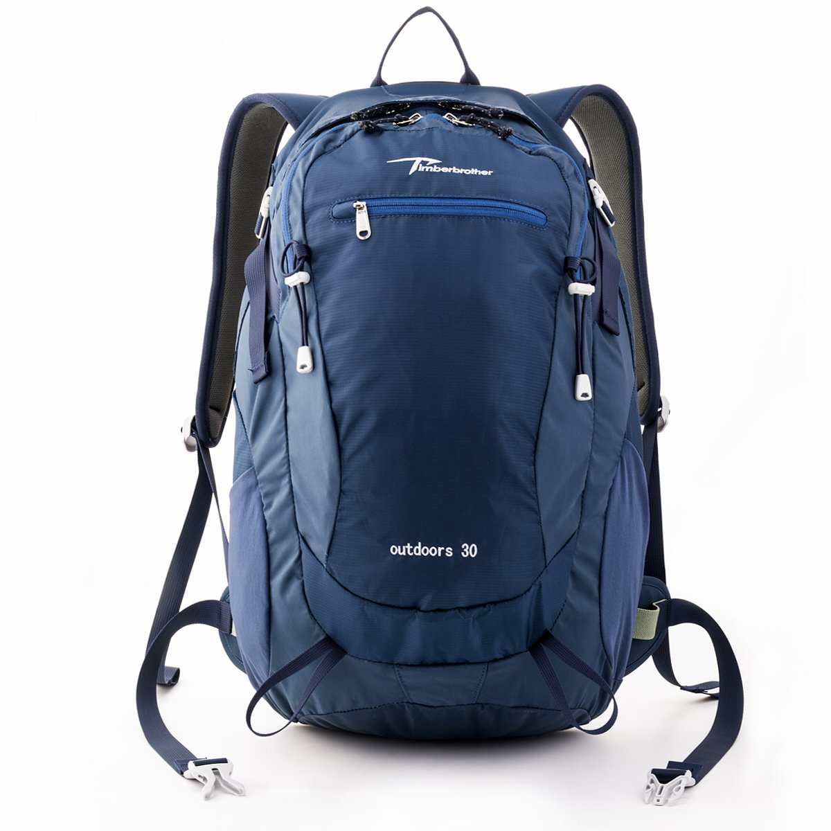 Timberbrother Hiking Backpack / Trekking Rucksacks Internal Frame Waterproof Daypack for Camping, Mountaineering, Climbing and Other Outdoor Activities (Blue--30 Liters) ypd