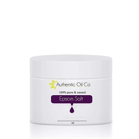 Epsom sal Sulfato de magnesio farmacéutica cosméticos y de calidad alimentaria 50 G