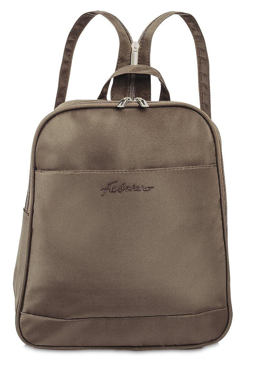 1f44342b60c0b Fabrizio - Damen Rucksack Cityrucksack Handtaschenrucksack Backpack  Citybackpack Damentasche (Hellbraun)  Amazon.de  Schuhe   Handtaschen