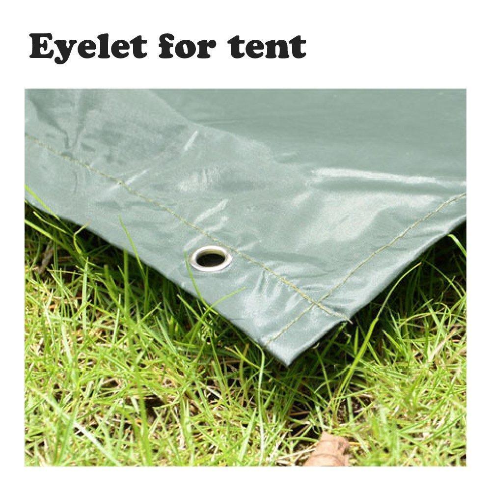 resistente y a prueba de desgarros Kingcoo ideal para caza acampada y actividades militares al aire libre Poncho impermeable de camuflaje con capucha de PVC