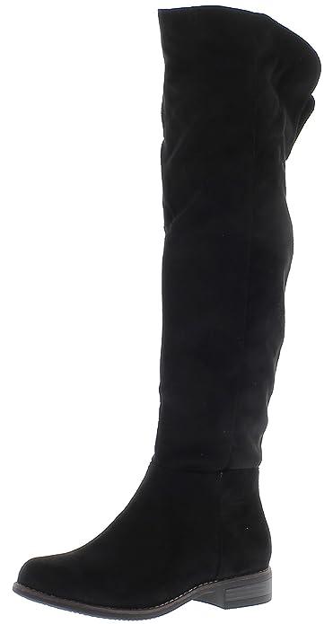 Botas negras con tacón grueso de 4,5 cm - 37