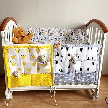 Animal FS Baby Crib Nursery Diaper Bag Storage Stacker Hanging Organizer With 9 Pockets Baby Room Decor