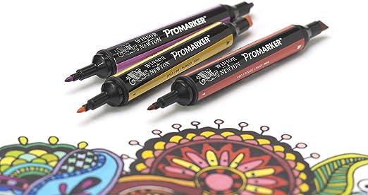 Winsor & Newton ProMarker - Pack de 6 rotuladores, tonos piel ...