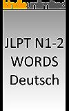 JLPT N1-2 words German