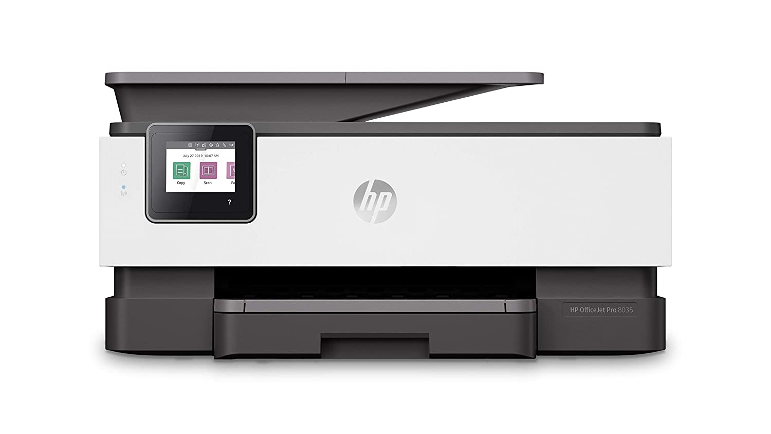 HP OfficeJet Pro 8035 All-in-One Wireless Printer - Includes 8 Months of Ink Delivered to Your Door, Smart Home Office Productivity - Basalt (5LJ23A)