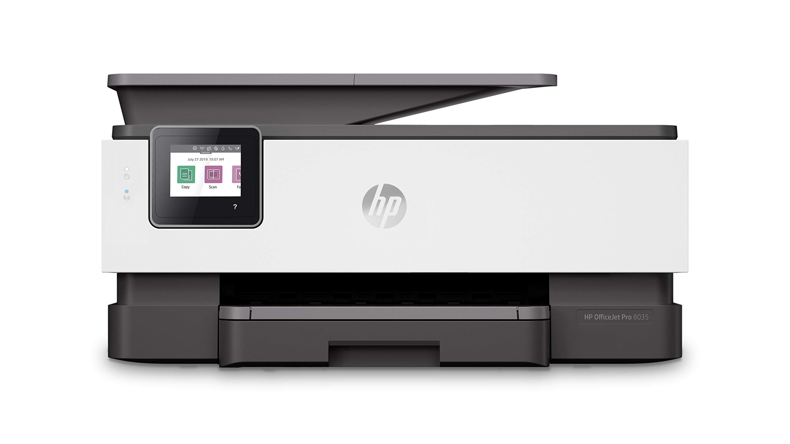HP OfficeJet Pro 8035 All-in-One Wireless Printer - Includes 8 Months of Ink Delivered to Your Door, Smart Home Office Productivity - Basalt (5LJ23A) by HP