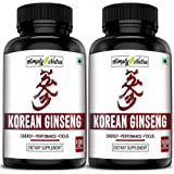 Simply Nutra Korean Ginseng for Energy and Stress 500mg Capsules - 100 Capsules (2)
