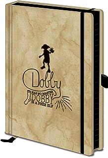 Erik Notizblock//Heft A4 Harry Potter Dobby mit Mikroperforation und Deckel aus Polypropylen