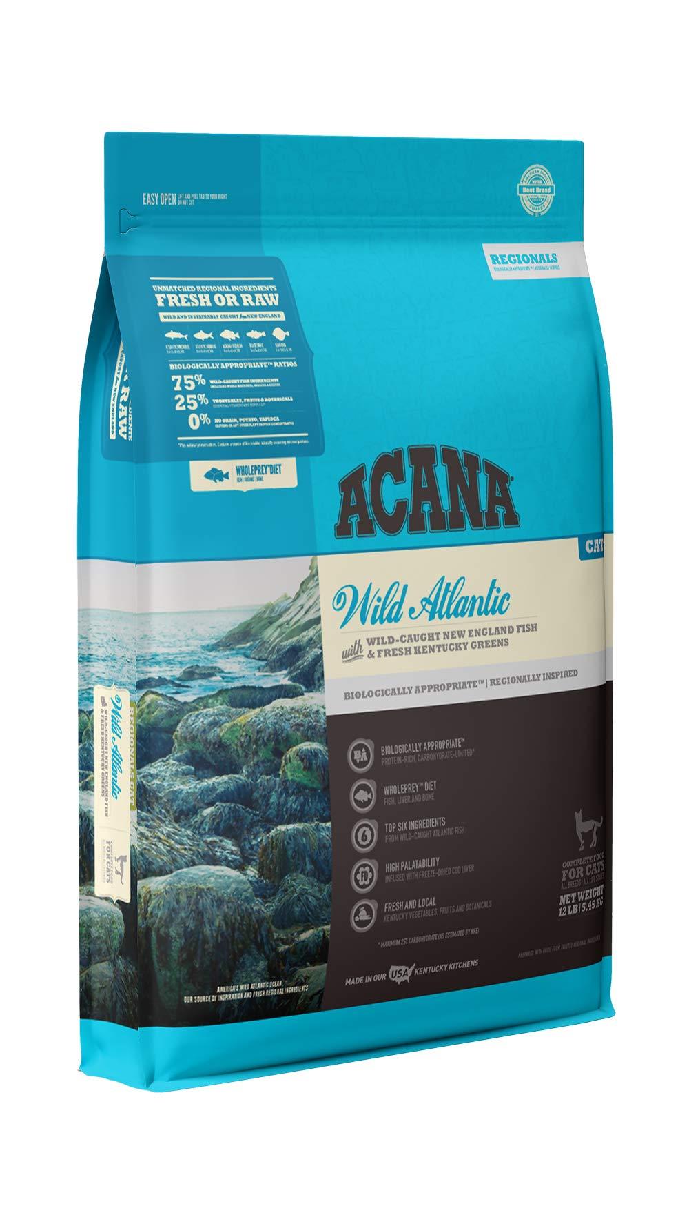 ACANA Regionals Dry Cat Food, Wild Atlantic, Biologically Appropriate & Grain Free by ACANA