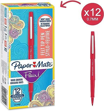 PAPER MATE INKJOY PUNTA 1.0 mm 1 penna a scatto 1 penna con tappo COLORI VARI