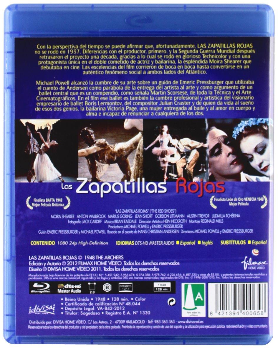 Amazon.com: Las Zapatillas Rojas (Blu-Ray) (Import Movie) (European Format - Zone B2) (2012) Moira Shearer; Anton Walbrook: Movies & TV